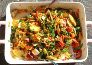 Bunte Salat-Ma(h)lzeit