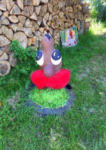 Der #Wiesenheld Balduin Rotschleif, seines Zeichens Regenwurm