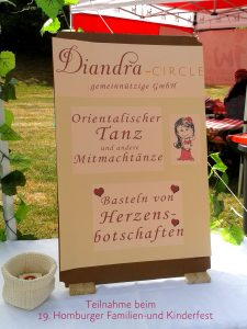 Diandra-Circle gemeinnützige GmbH Teilnahme beim 19. Homburger Familien-und Kinderfest am 25.07.2017