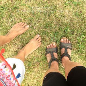 Fußabgleich :-)