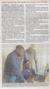 Diandra-Circle gemeinnützige GmbH in Zusammenarbeit mit Kagiso Learning Aid Project NGO, Südafrika